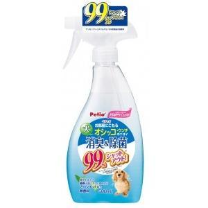 ペティオ ハッピークリーン 犬オシッコ・ウンチのニオイ 消臭&除菌 500ml|aquabase