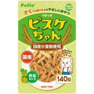 ペティオ ビスケちゃん 野菜MIX 140g|aquabase
