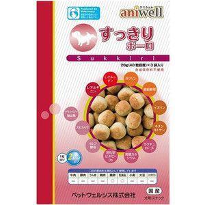 アニウェル すっきりボーロ 20g(40粒程度)x3袋|aquabase