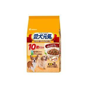 愛犬元気 10歳以上用 ビーフ・ささみ・緑黄色野菜・小魚入り 2kg|aquabase