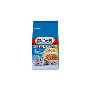 ねこ元気 お魚ミックス まぐろ・かつお・白身魚入り 1kg|aquabase