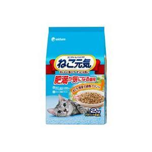 ねこ元気 肥満が気になる猫用 まぐろ・野菜・白身魚・チキン入り 2kg|aquabase