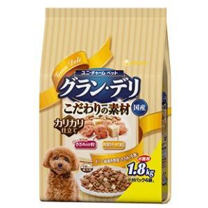 グラン・デリ 成犬用 新食感ささみ入り粒・角切りチーズ粒入り 1.8kg|aquabase