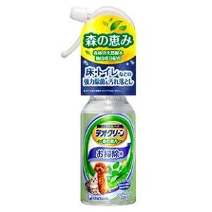 ユニチャーム デオクリーン 消臭スプレー お掃除用 本体 300ml|aquabase
