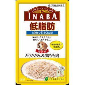 いなば 低脂肪 とりささみ&鶏もも肉 80g|aquabase