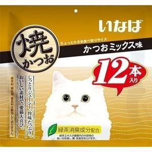 いなば 焼かつお かつおミックス味 12本|aquabase
