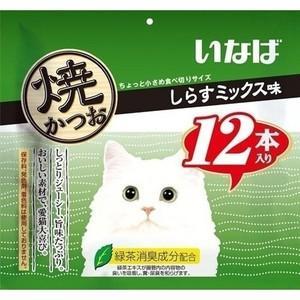 いなば 焼かつお しらすミックス味 12本|aquabase