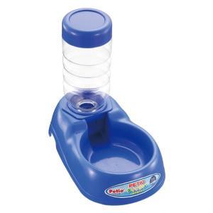 ペティオ ディッシュ 給水器付き ブルー|aquabase