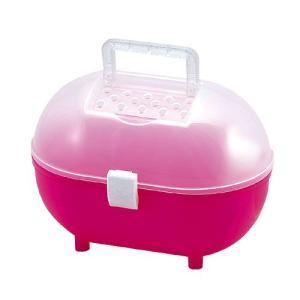 スドー ハムスターのおでかけルンルンBox ピンク|aquabase