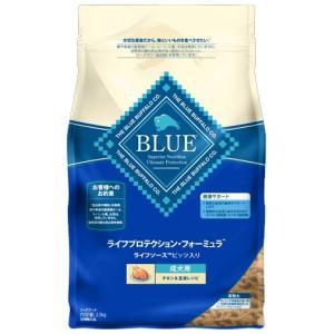 ブルーバッファロー 成犬用 チキン&玄米レシピ 2.5kg 【プレミアムおやつ付き】|aquabase
