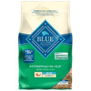 【送料無料】 ブルーバッファロー 成犬用 ラム&玄米レシピ 6kg 【プレミアムおやつ付き】|aquabase
