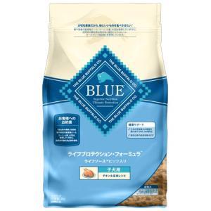 ブルーバッファロー 子犬用 チキン&玄米レシピ 2kg 【プレミアムおやつ付き】|aquabase