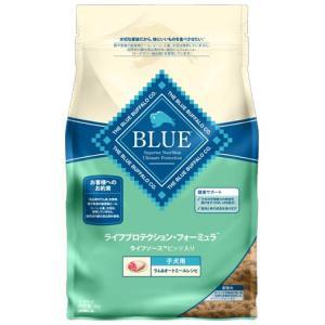 ブルーバッファロー 子犬用 ラム&オートミール レシピ 2kg 【プレミアムおやつ付き】|aquabase