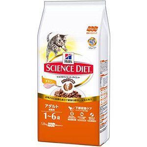 サイエンスダイエット アダルト チキン 成猫用 1.8kg|aquabase