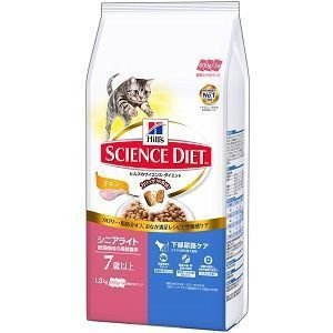 サイエンスダイエット シニアライト 肥満傾向の高齢猫用 1.8kg|aquabase