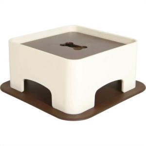 ハリオグラス わんテーブル ショコラブラウン|aquabase