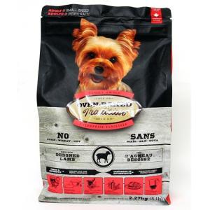 オーブンベークド トラディション 成犬 ラム&ブラウンライス 2.27kg|aquabase