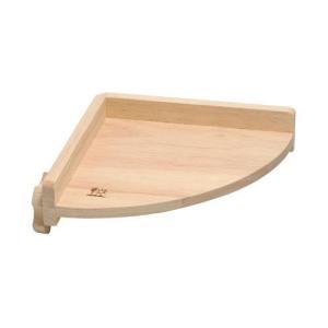 三晃商会 木製コーナーステージ 小|aquabase