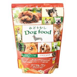アニマルワン みどりむし Dog food チキン 800g|aquabase