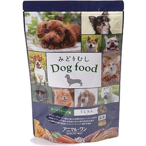 アニマルワン みどりむし Dog food ツナ 800g|aquabase