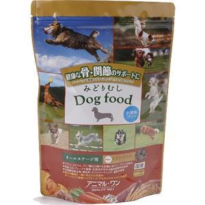 アニマルワン みどりむし Dog food 機能性チキン 800g|aquabase