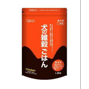 アニマルワン 犬の雑穀ごはん ライト チキン 1.6kg|aquabase