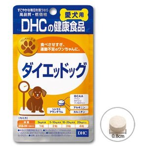 DHC ダイエッドッグ 愛犬用 60粒|aquabase