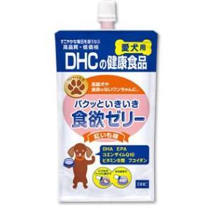 DHC パクッといきいき食欲ゼリー 紅いも味 愛犬用 130g|aquabase