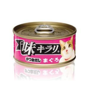 ネスレ 味キラリ かつおだし まぐろ 80g ケース24缶セット|aquabase