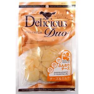 デリシャスデュオ ふんわりチーズ チーズ&ミルク 50g|aquabase
