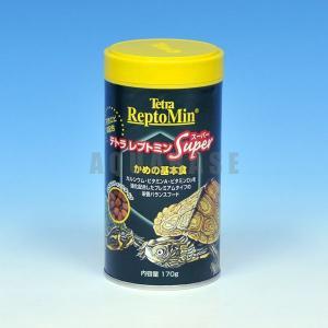 テトラ レプトミンスーパー かめの基本食 170g|aquabase