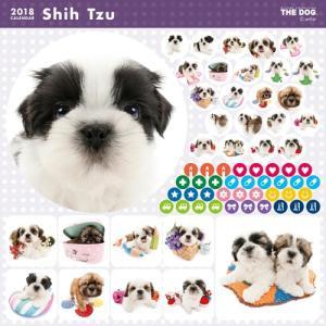 2018年度版 THE DOG カレンダー シー・ズー|aquabase|03