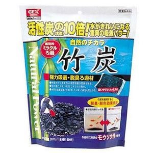 GEX 竹炭 210g|aquabase