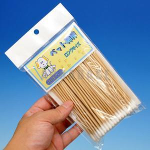 エースプロ ペット綿棒 ロングサイズ 100本|aquabase