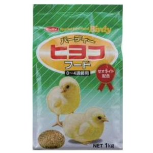 日本配合飼料 バーディー ヒヨコフード 0〜4週齢用 1kg 【特売】|aquabase