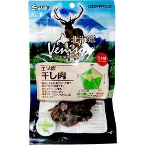 アスク 北海道ベニスン エゾ鹿干し肉 40g|aquabase