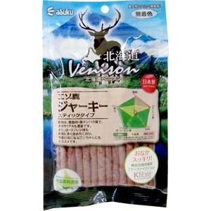 アスク 北海道ベニスン エゾ鹿ジャーキー スティックタイプ 150g|aquabase