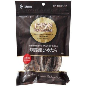 アスク ジャパンプレミアム 釧路産ひめたら 60g|aquabase