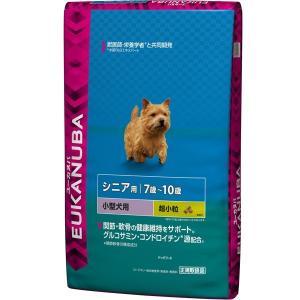 ユーカヌバ シニア 7歳〜10歳 小型犬用 超小粒 7.5kg 【特売】|aquabase