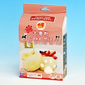 ペットライブラリー ワンちゃんの大麦粉ケーキミックス 100g|aquabase