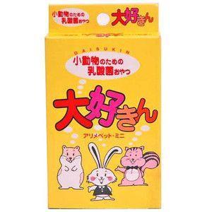 日本生菌研究所 アリメペットミニ 大好きん 小動物用 10g|aquabase