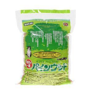 猫砂 パインウッド 6L|aquabase
