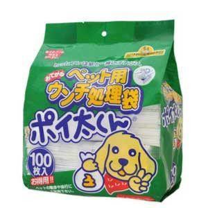 ペット用うんち処理袋 ポイ太くん 100枚入 【特売】|aquabase