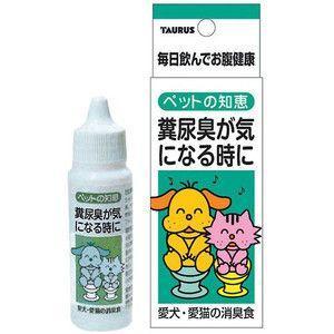 トーラス ペットの知恵 消臭食 糞尿臭が気になる時に 30ml|aquabase