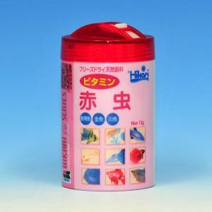 キョーリン ひかりFD ビタミン赤虫 12g 【特価】 【J164052】|aquabase