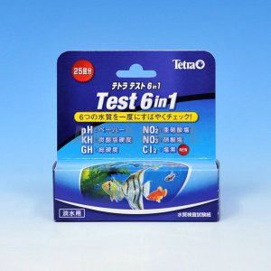 テトラ テトラテスト 6in1 試験紙|aquabase