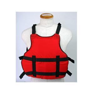 カヌー・ボート用フローティングベスト アクアビーチABCS2012 レッド 練習用 競技用|aquabeach2