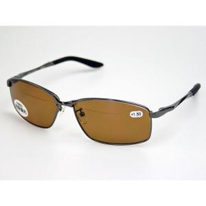 冒険王 バイフォーカルスポーツ BFS-5B 老眼鏡入偏光サングラス ケース&メガネ拭き付|aquabeach2