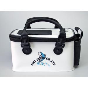 EVA いきいきエサクーラー2.8L BK-2030 ホワイト ファインジャパン 釣り具|aquabeach2