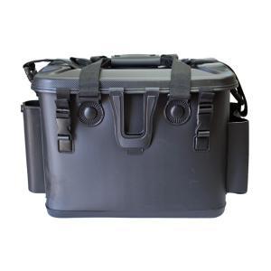 タックルバッグ ロッドスタンド付 BK-2115 ブラック 40cm ファインジャパン 釣り具|aquabeach2